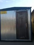 Блок-контейнер  с двускатной крышей